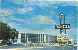 The Frontier Hotel, Las Vegas, Nevada, NV, Chrome