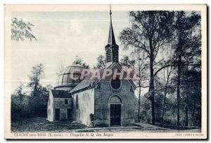 Postcard Old Chapel of Our Lady of Angels Clichy sous Bois