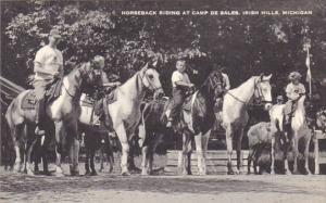 Horseback Riding At Camp De Sales Irish Hills Michigan Artvue