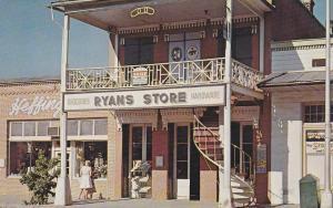 WEAVERVILLE, California, 1940-1960's; Odd Fellows Hall, Ryans Store