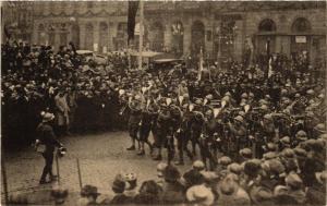 CPA Strassburg L'entrée des Troupes (490112)