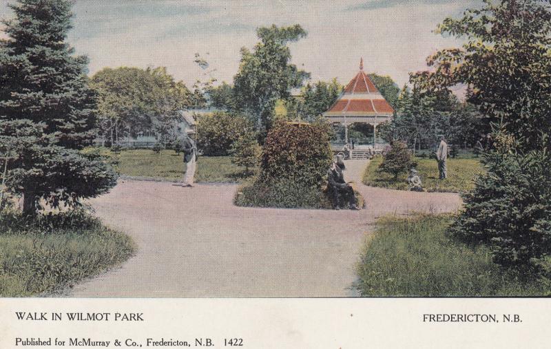 Walk in Wilmont Park, FREDERICTON, New Brunswick, Canada, 1901-07