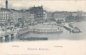 Jungfernstieg, Hamburg, Germany,  00-10s