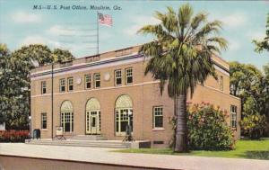 Georgia Moultrie Post Office 1950 Curteich