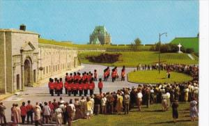 Canada Changing Of The Guard La Citadelle Quebec