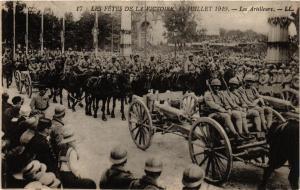 CPA PARIS Les Fetes de la Victoire 1919 Les Artilleurs (218839)