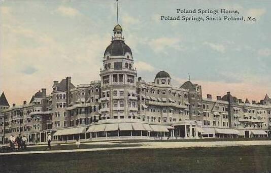 Maine South Poland Poland Springs House Poland Springs
