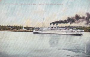 C.P.R. Steamer, Princess Victoria, Vancouver-Victoria Route,Canada,00-10s