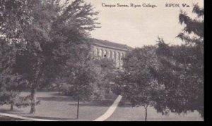 Wisconsin Ripon Campus Scene Ripon College  Albertype