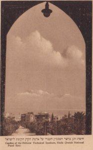 HAIFA , Israel , 1920-30s ; Garden of the Hebrew Technical Institute