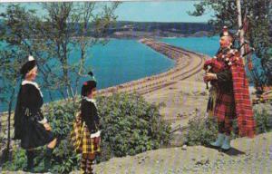 Canada Road To Isles Causeway Cape Breton Nova Scotia