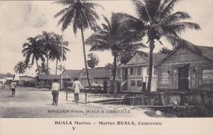 Marina Duala, Typical Scene, Douala, Cameroon, Africa, 1900-1910s