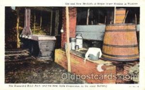 Brick Arch Farming, Farm, Farmer, Postcard Postcards Maple Sugar in Vermont B...