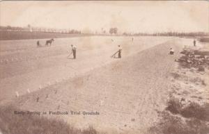 Plowing Early Springs In Fordhook Trial Grounds Doylestown Pennsylvania