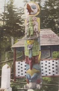 KETCHIKAN, Alaska, 1900-1910´s; Indian Totem