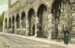 UK - England, Southampton. Old Walls