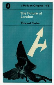 The Future Of London Edward Carter First Edition 1962 Book Postcard