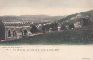 WINSTED, Connecticut, 1900-1910s; View Of Valley From Soldiers Memorial
