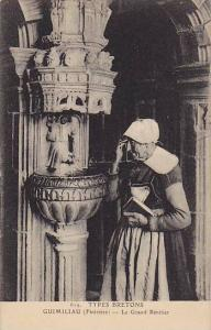 Le Grand Benitier, Guimiliau (Finistere), France, 1900-1910s