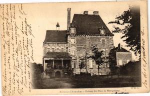 CPA AVRANCHES - Chateau des Ducs de Montgomery (149771)