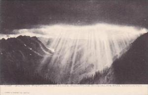 Washington Snoqualmie Pass Sun Ray Picture In Cascade Mountains