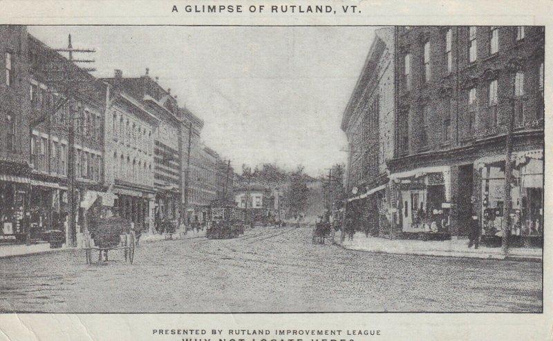 RUTLAND, Vermont, 1900-1910's