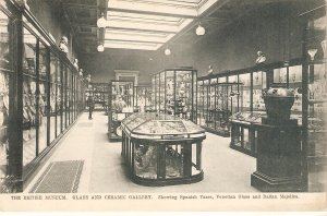 The British Museum. Glass and Ceramic Galler Tuck British Museum Ser. PC # 1287
