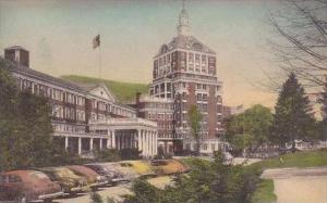 Virginia Hot Springs Front Of The Homestead Hotel Albertpye