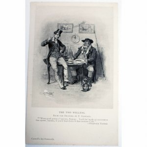 Cassell's 'Art Cards' Postcard 'The Two Wellers'