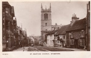RP: Stamford , Lincolnshire , England , 1910 ; Street View