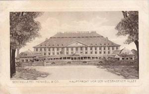 Wiesbaden , Germany , 00-10s ; Sektkellerei Henkell & Co., Hauptfront