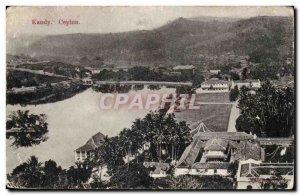 Postcard Old Ceylon Kandy Ceylon Sri Lanka