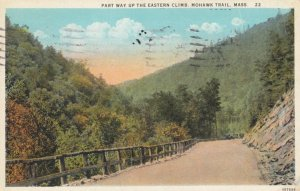MOHAWK TRAIL, Massachusetts, 1927; Part Way Up The Eastern Climb