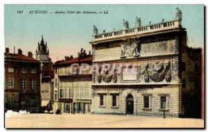 Avignon - Hotel Old coins - Old Postcard
