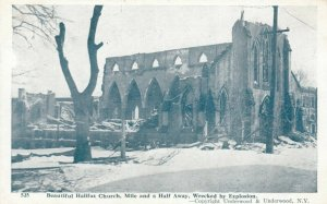 HALIFAX , N.S. , 1910s ; Explosion , Church