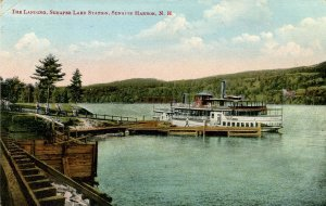 NH - Lake Sunapee. Harbor, Landing, Lake Station