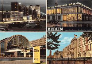 Berlin Karl Marx Allee Restaurant Moskau Bahnhof Alexanderplatz Auto Cars