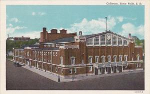 South Dakota Sioux Falls Coliseum Curteich
