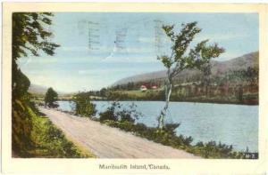 Manitoutin Island, Ontario, Canada, 1944 PECO White Border