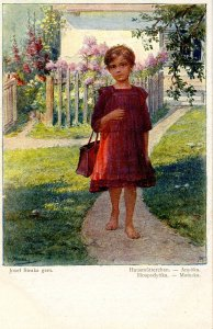 Little Housewife     Artist: Josef Straka