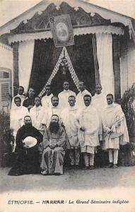 Ethiopia Harrar, Grand Seminaire indigene, Group