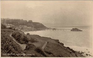 (aj26) Ventnor Cliff Walks - Isle of Wight Postcard
