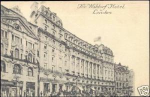 london, LONDON, The Waldorf Hotel (1911)