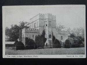 Oxfordshire BLENHEIM PALACE The High Lodge c1905 Postcard by Taunt & Co. 958