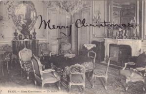 Interior - Un Salon, Hotel Continental, PARIS, France, PU-1906