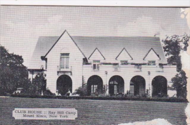New York Mount Kisco Club House Ray Hill Camp Dexter Press