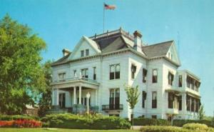 The Governor's Mansion, Springfield Illinois unused Postcard
