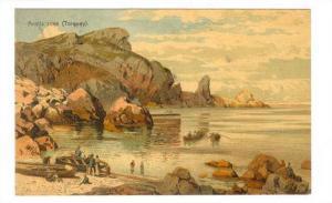 Anstis cove (Torquay) , Devon , England , PU-1908