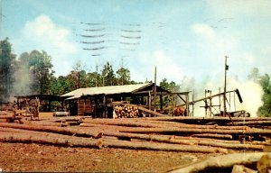 Typical Southern Sawmill 1976