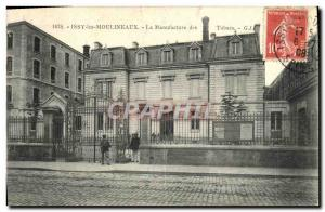 Old Postcard Issy les Moulineaux The Tobacco Factory